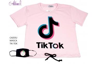 Tricou fata Tik Tok