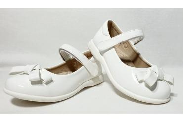 Pantofi Fete Albi Cu Funda