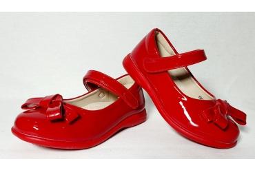 Pantofi Fete Rosii Cu Funda