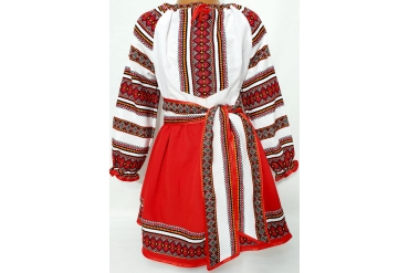 Costum traditional fata